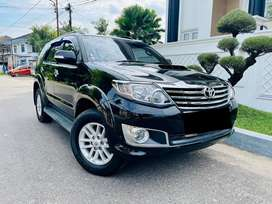 Istimewa toyota fortuner 2013 / 2015 G VNT TURBO MT MANUAL #up trd