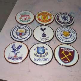 Pin dan Gantungan Kunci Klub Sepakbola Liga Inggris
