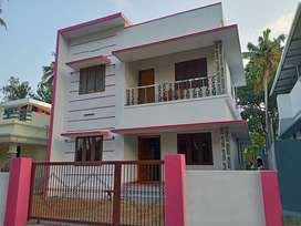 PALAKKAL, Thrissur, 5 cent, 1400 sqft, 3 BHK, 55 Lakh Negotiable,