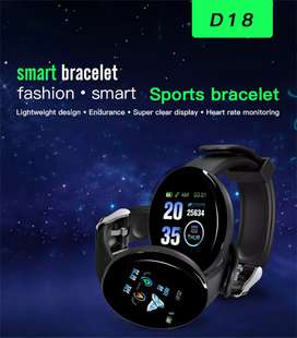 Kids smart band Bluetooth connecting black colour waterproof#D18