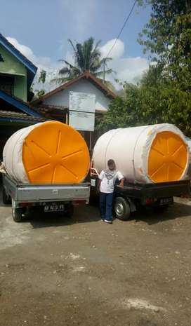 Gudang Tandon air 5000 liter HDPE plastik Sukoharjo