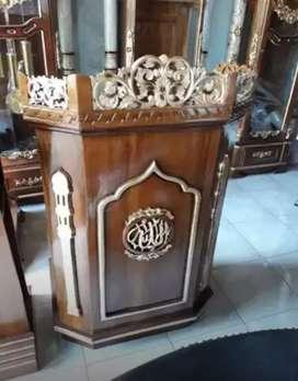 mimbar masjid laku jati 02