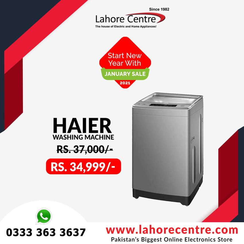 Haier Fully Automatic Machine Best Offer 0