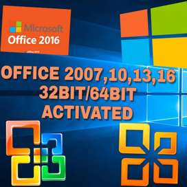 MS OFFICE 2007,2010,2013 & 2016 with ACTIVATED