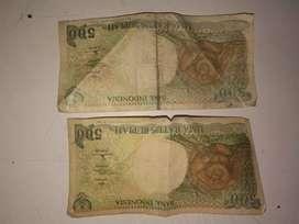 Jual uang kuno koin dan kertas