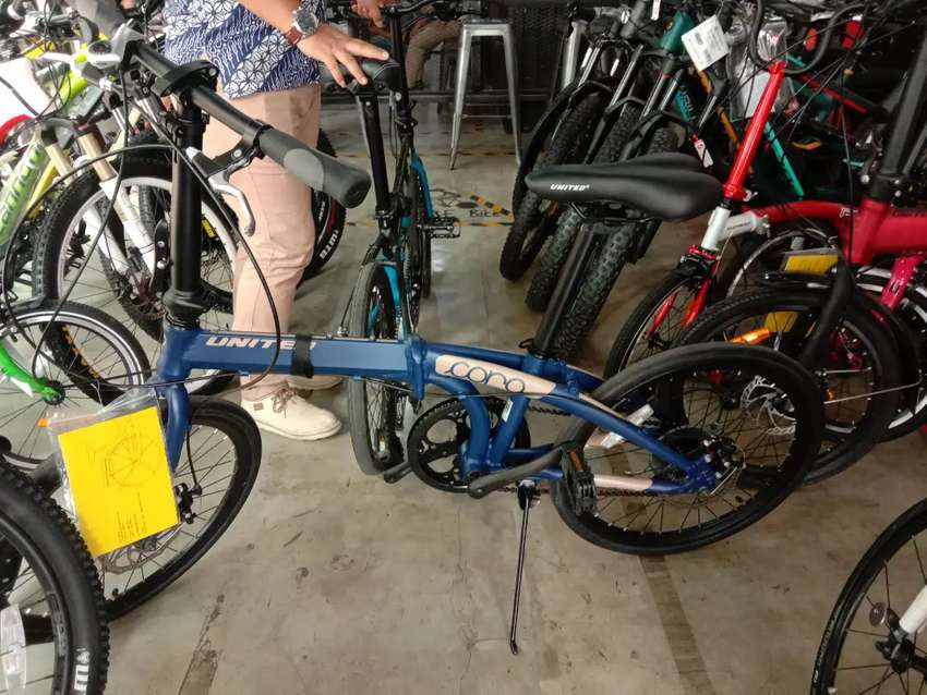 Sepeda lipat united 7 speed kredit tanpa dp 0