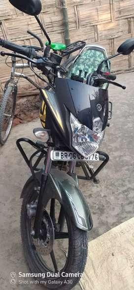 Front disc brake self starting