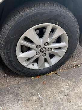 I6 inch innova and 15inch polo stoock wheels