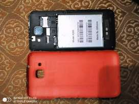 QMobile x200 only for screen and parts dead mobile without battery