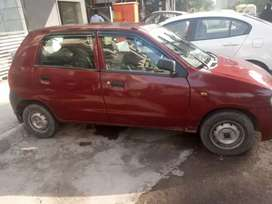 Maruti Alto with cng on paper