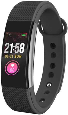 Smart Fitness Watch With Bluetooth - Black.Dot D116
