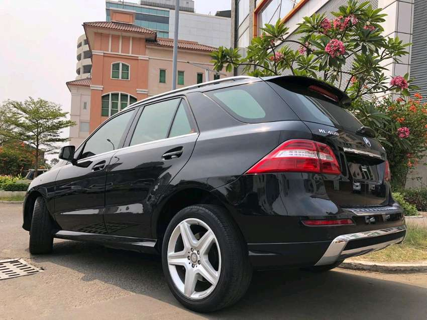ML400 AMG 2015 Nik15 Black On Beige Km39rb V6 333Hp Service Record 0