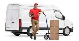 Van delivery boy