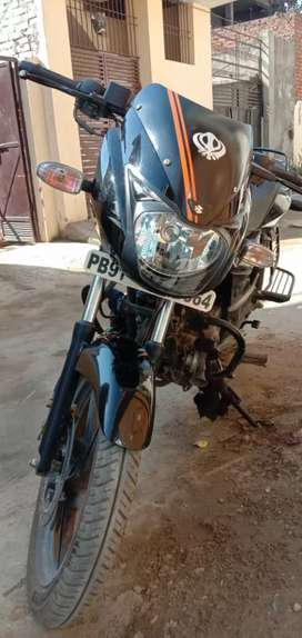 A bike in new condition