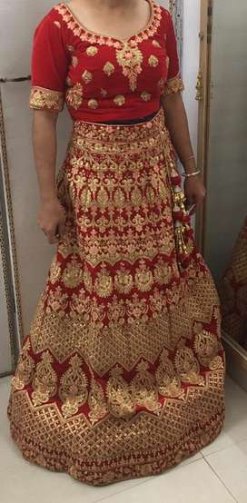 New lehnga with dupatta