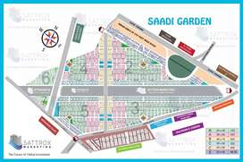 Saadi Garden block 3 VIP location west open
