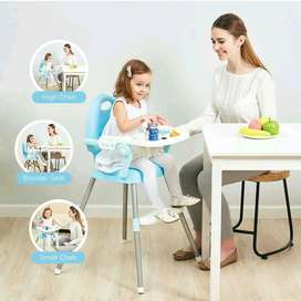 High Chair 3 in 1 Baby Safe