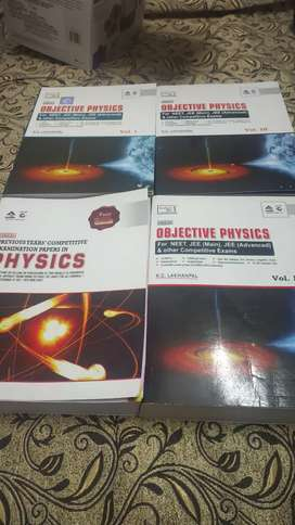 Physics entrance books - 11th and 12th