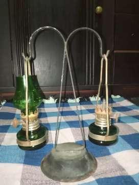 Lampu minyak mini jadul