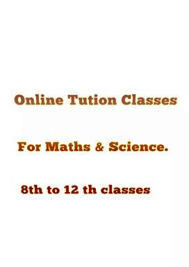 Online Tution For Maths & Science