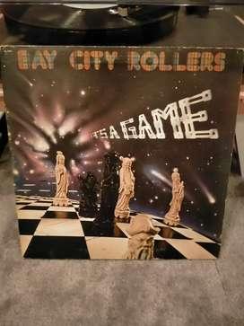 Bay city rollers vinyl piringan hitam vintage