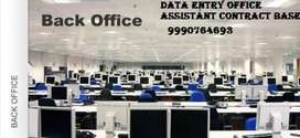Opening 100 vacancies in back office male female