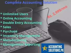 Accounting software in Just Rs. 2,999/- PM
