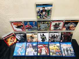 PS3 and PS4 gaming CD for sell