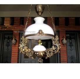 Lampu gantung hias joglo lampu gebyok lampu lawasan lampu pendopo