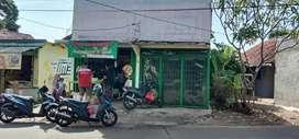 Dikontrakan murah kios 30 m2 di jalan cendrawasih raya ciputat, murah