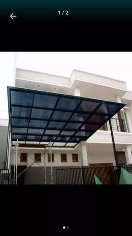 Canopy polikarbonate harga murah kualitas terjamin