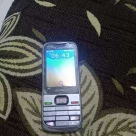 Keypad silver colour gionnee phone for sale at rs 600