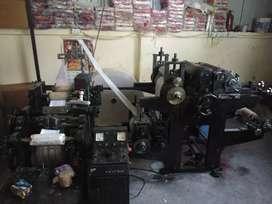 Tissue paper manufacturing machine