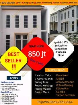 Dijual Cash Rumah Baru Siap Huni di Telkomas Kota Makassar BTP