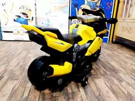 Heavy bike for kids in yellow color