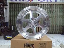 Velg Racing Vios Sigra Hsr Rumoi Ring 16 Pcd 8x100-114,3 Smf