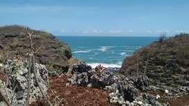 Tanah 10 Hektar view pantai Butuh