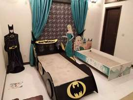 Beautiful batman car bed for kids.