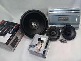 Paketan audio komplit
