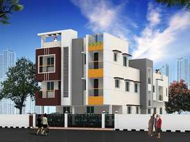 apartment sale in pozhichalur in low budget