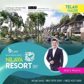 Rumah Mewah Kota Batu Nilaya Resort and Residence