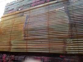 Tirai kulit bambu dan isi bambu dan kulit bambu dan rotan