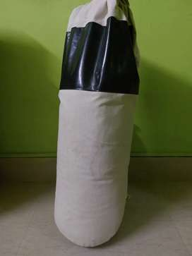BOXING PUNCHING BAG WITH A PAIR OF GLOVES
