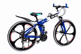 folding cycle with 21 speed shimano gears