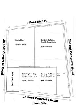 3 Kanal Property for Sale in Sector F2 Extension (Izafi Scheme) Start