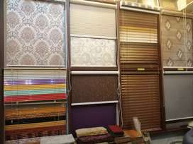 Wooden blinds vertical mini Roller all types of blinds products availa