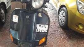 Bajaj chetak scooter of retd defence officer
