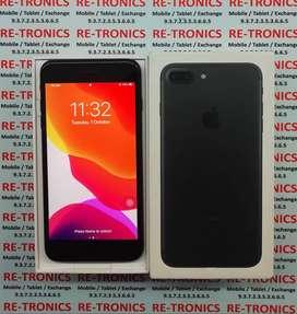 iPhone 7 Plus Storage 32GB Black With Box