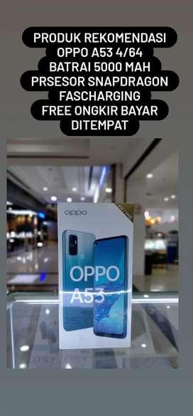 OPPO A53 4/64 FREE ONGKIR BAYAR DITEMPAT