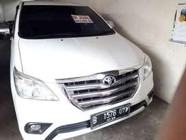 Toyota Grand New Kijang Innova G 2.0cc MT thun 2015 Putih
